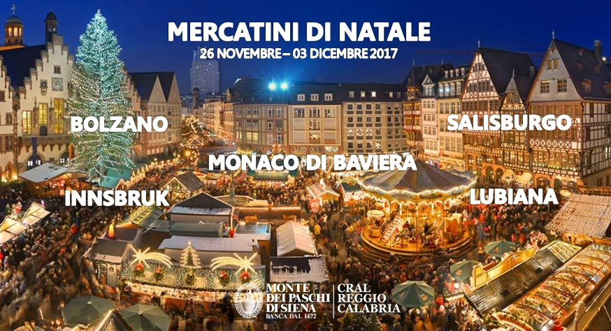 Mercatini Di Natale A Bolzano Foto.Gran Tour Nei Mercatini Di Natale Dal 26 Novembre Al 03